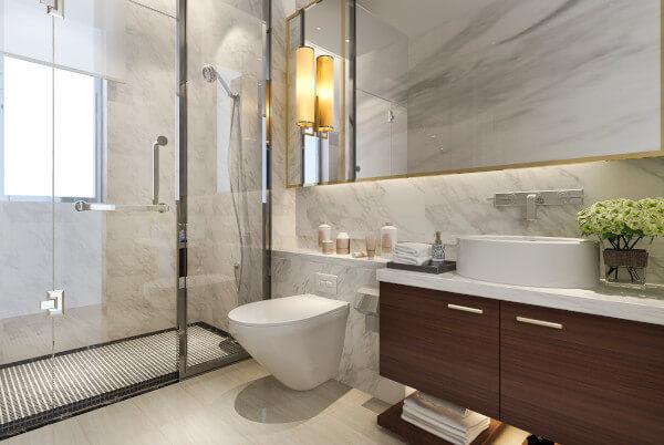 szkło do kabin prysznicowych
